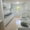 共同キッチンと洗濯場